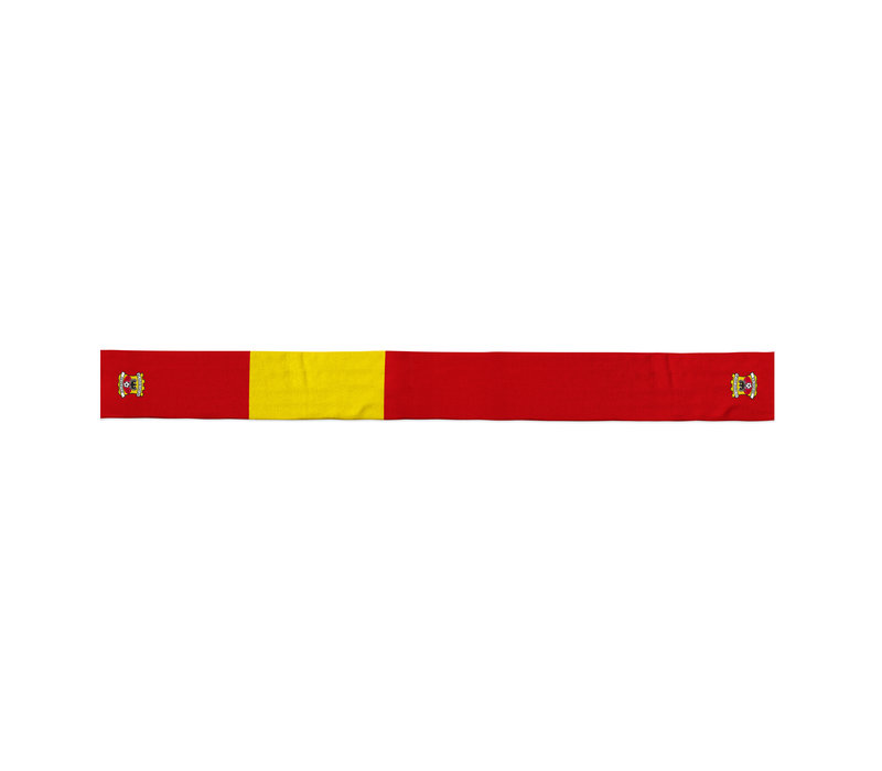 Business sjaal rood/geel