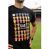 GO Ahead Eagles Niet te kraken t-shirt, kleur zwart