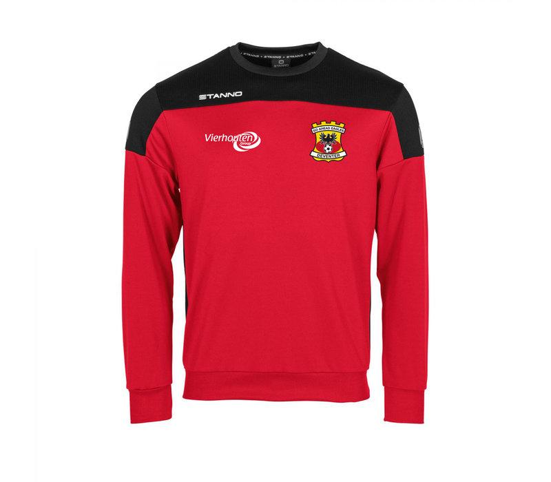 Stanno Sweater Thuis, rood 2020/2021 - Junior
