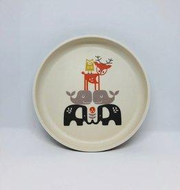 FRESK Plate bamboo fresk