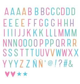 LITTLE LOVELY COMPANY Kids 85 pastel letters