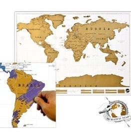 LUCKIES Scratch Map - Carte à Gratter