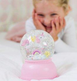 LITTLE LOVELY COMPANY Boule à Neige Lumineuse Licorne