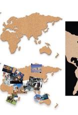 LUCKIES Carte en Liège - Corkboard Map
