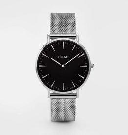 CLUSE Boheemse mesh zilver witte Cluse