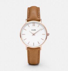 CLUSE Midnight Rose Gold White Pink Cluse