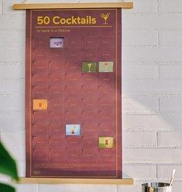 DOIY Poster 50 Choses à Faire Avant De Mourir