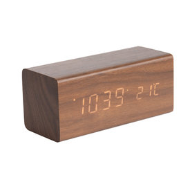 PRESENT TIME Réveil Block Present Time