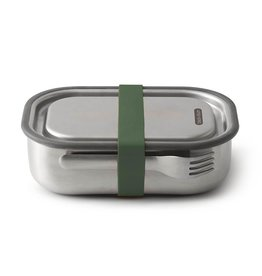 BLACK AND BLUM Lunchbox Stainless steel Black year Blum