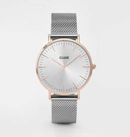 CLUSE Bohemian Mesh Rose Gold White Cluse
