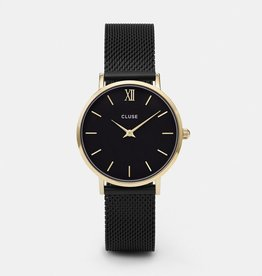 CLUSE Midnight Mesh Gold Black Black Cluse