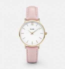 CLUSE Minuit Gold White Pink Cluse