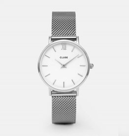 CLUSE Minuit mesh silver