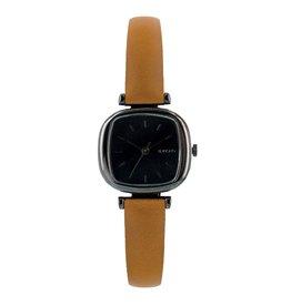 KOMONO Moneypenny roze goudbruin horloge