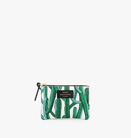 WOUF W cactus small pouch