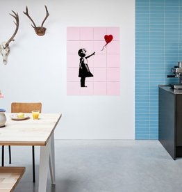 IXXI Panneau Recto/Verso Love Icons Bansky Ixxi