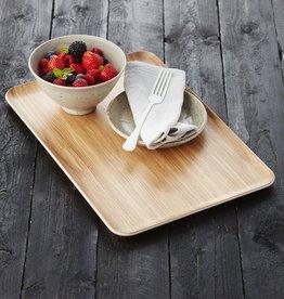 A DOMO Wooden tray 39x27cm