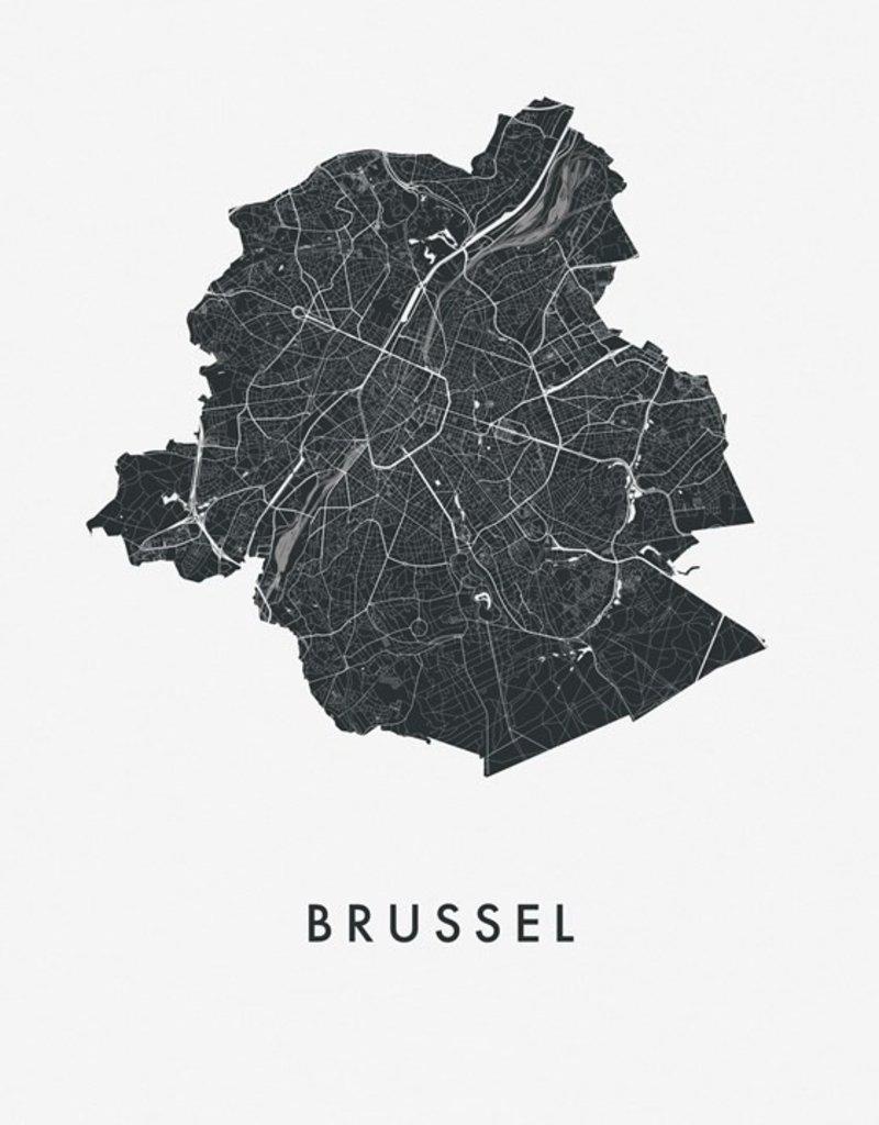 IXXI Ixxi brussels city map