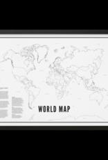 WIJCK World Map Poster Wijck