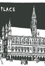 Poster Bruxelles C.Toussaint