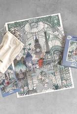 LUCKIES PUZZLE LONDON PARIS BRUXELLES