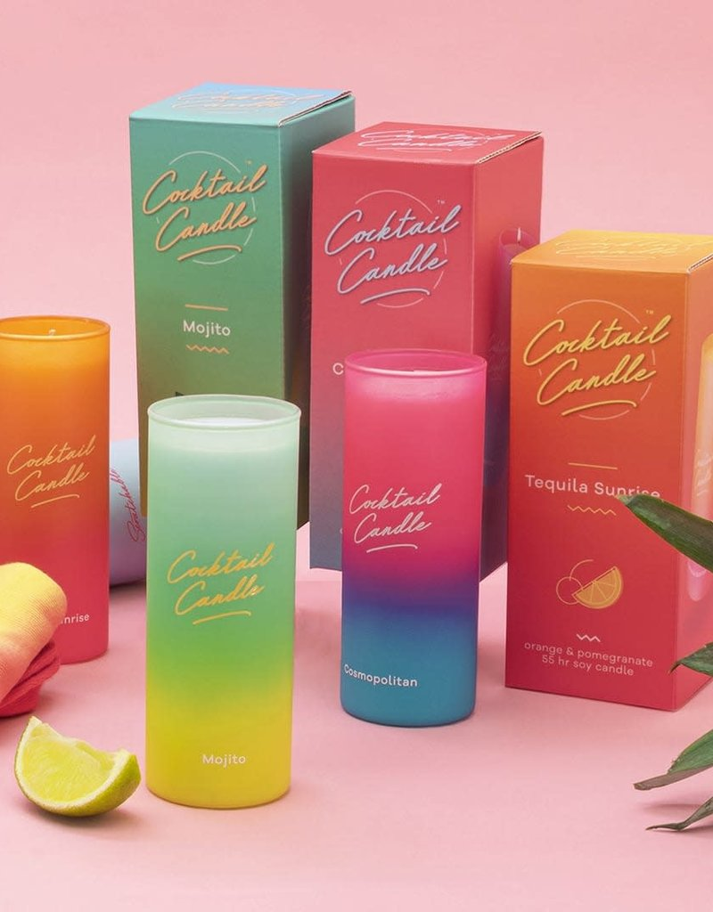 LUCKIES COCKTAIL CANDLES BOUGIES