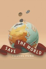 LUCKIES Piggy bank SAVE THE WORLD