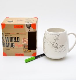 TROUVAILLE WORLD MUG WITH PEN