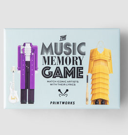 PRINTWORKS THE MUSIC MEMORY GAME