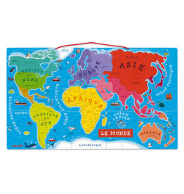 JANOD Puzzle world magnetic