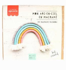 LA PETITE EPICERIE Macrame rainbow