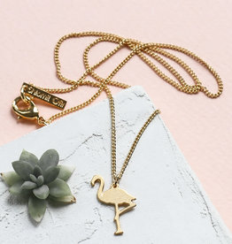 SHLOMIT OFIR necklace TINY FLAMAND ROSE