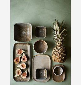 MADAM STOLZ Stoneware taupe