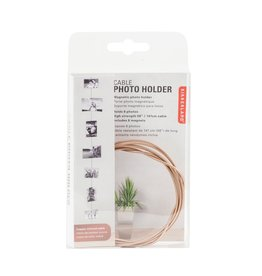 KIKKERLAND CABLE PHOTO HOLDER