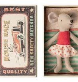 MAILEG LITTLE BROTHER/SISTER IN A MATCHBOX