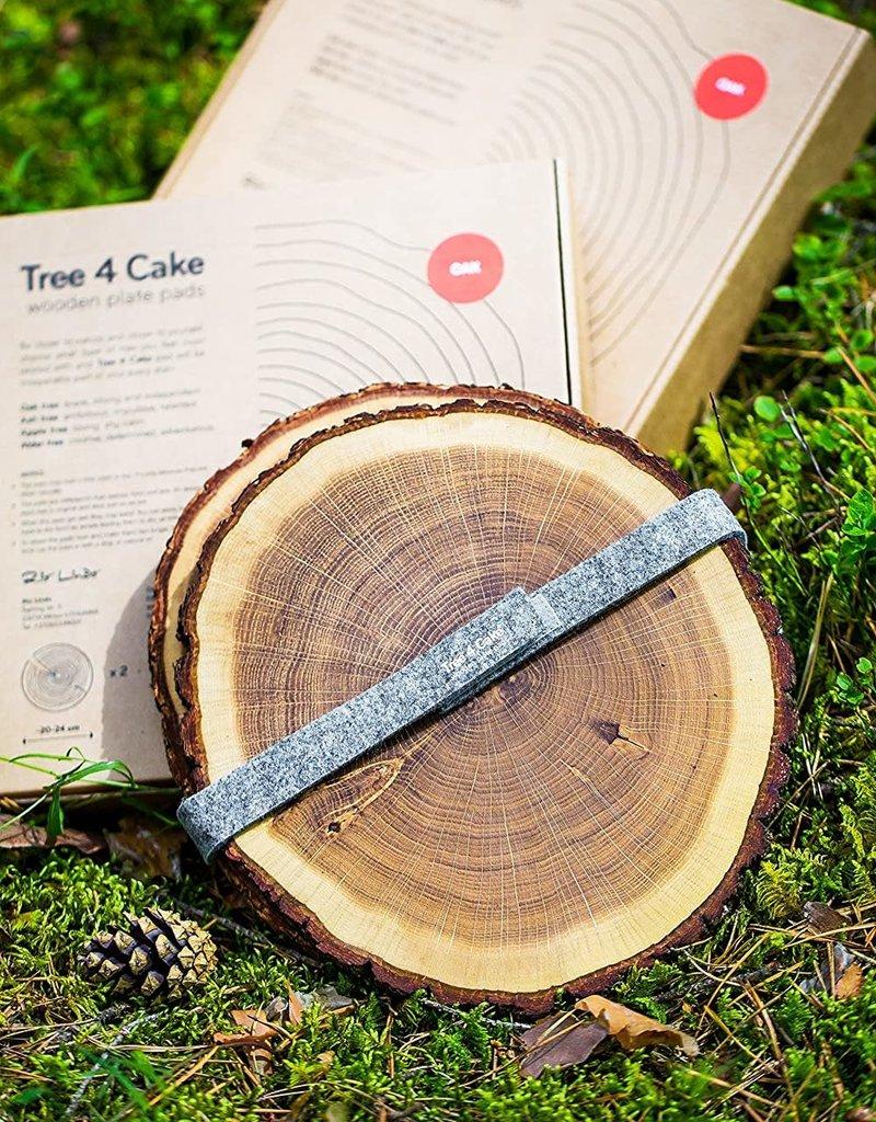 TREE4CAKE sous-plat en chêne