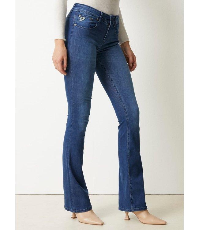 Leia Teal Raval Jeans