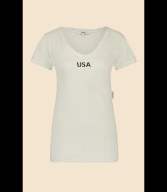 Penn & Ink T-shirt met print