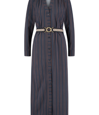 Studio Anneloes Shelby pinstripe LS dress