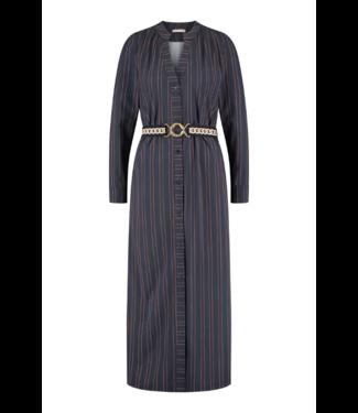 Studio Anneloes Shelby pinstripe LS dress