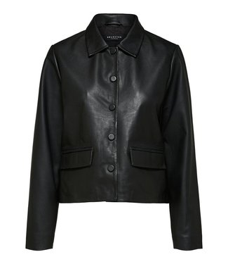 Selected Lovi Leather Jacket
