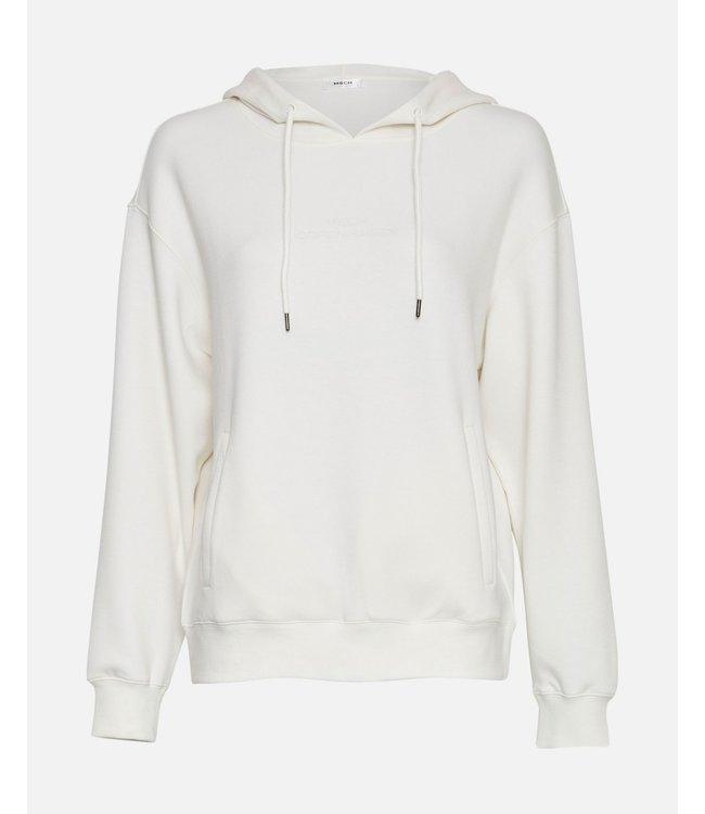 Moss Copenhagen Ima Logo Hood Sweater