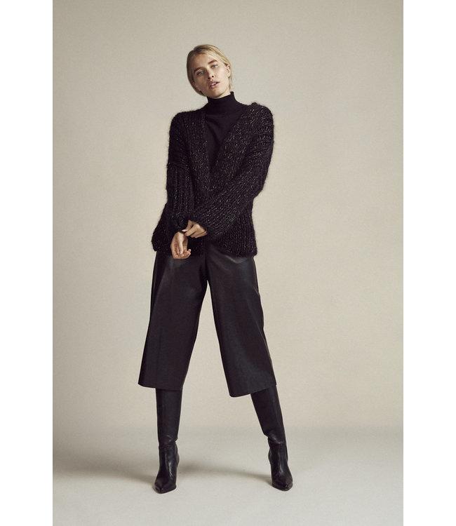 Delphine Culotte Vegan Leather