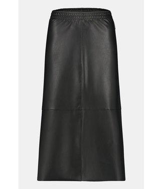 Penn & Ink Fake Leather Skirt