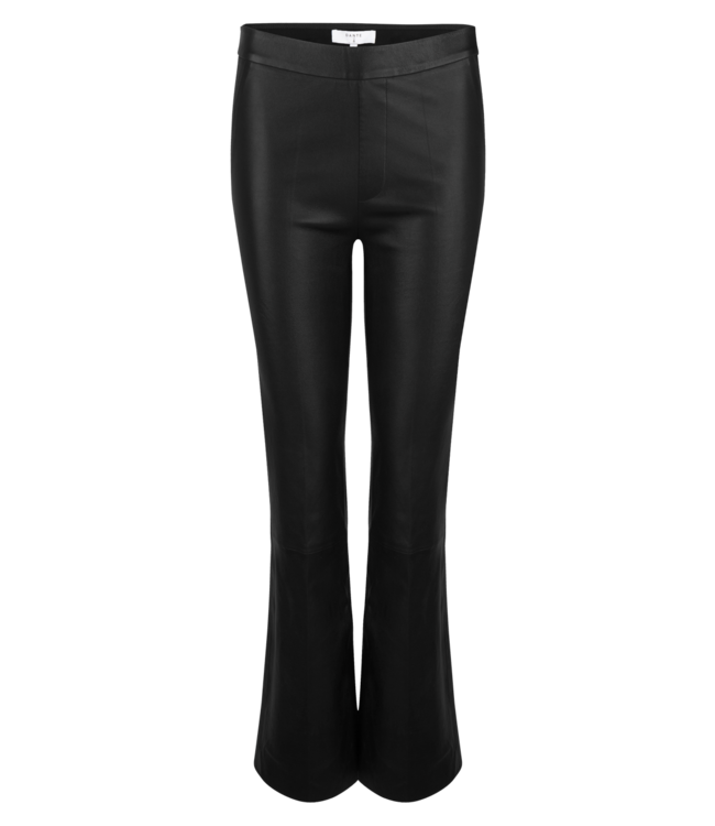 Tyson Flare Stretch Leather Pants