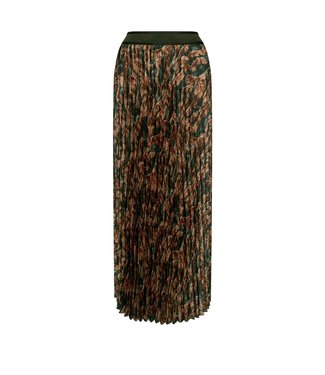 Mos Mosh Plisse Forest Skirt