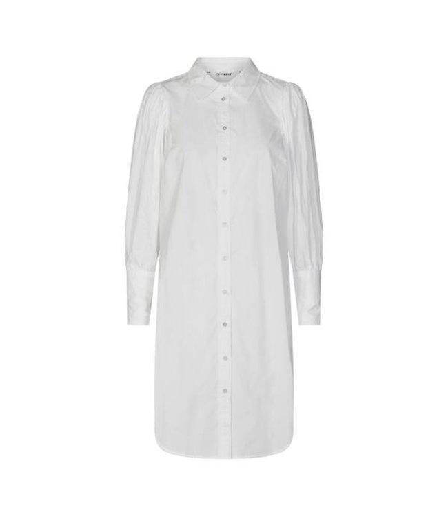 Collie Puff Shirt Dress