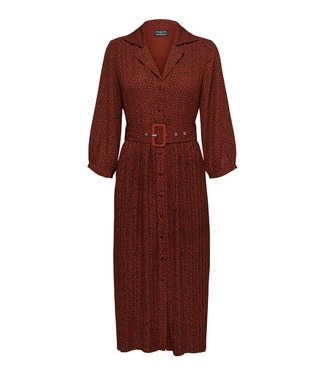Selected Kinsley-Oriana 3/4 Midi Dress