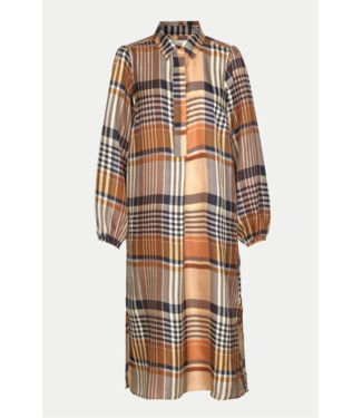 Second Female Nice Midi Dress Silk
