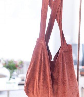 Local Attic Tote Bag washed Tobacco 45 x 62cm
